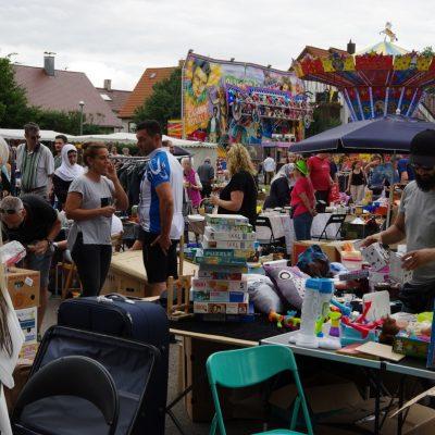 Flohmarkt zum 44. Fleckenfest 2018